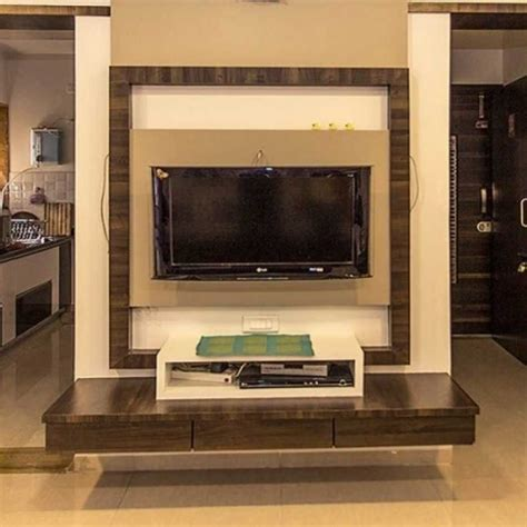 wooden design on wall for lcd images led tv cabinet