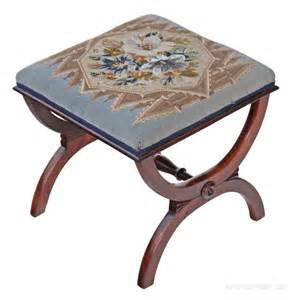 X Stool by Regency Rosewood X Frame Stool Seat Foot Antiques Atlas