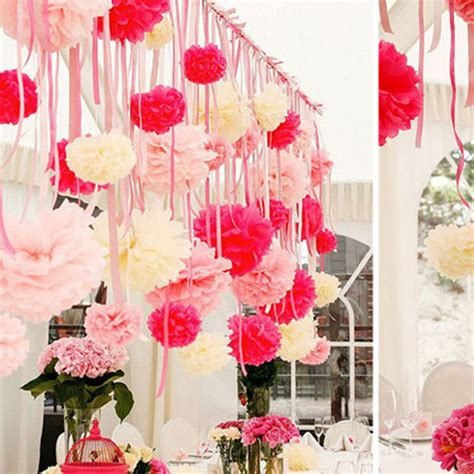 create   paper craft wedding decorations