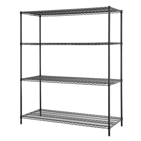 Excel 60 In W X 72 In H X 24 In D All Purpose Heavy Heavy Duty Wire Shelving