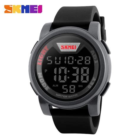 Jam Tangan Led Skmei Digital jual jam tangan pria digital skmei sport led