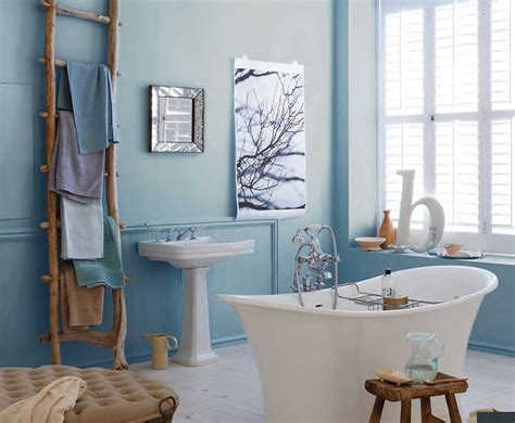 blue bathroom ornaments interior trends 2017 vintage bathroom