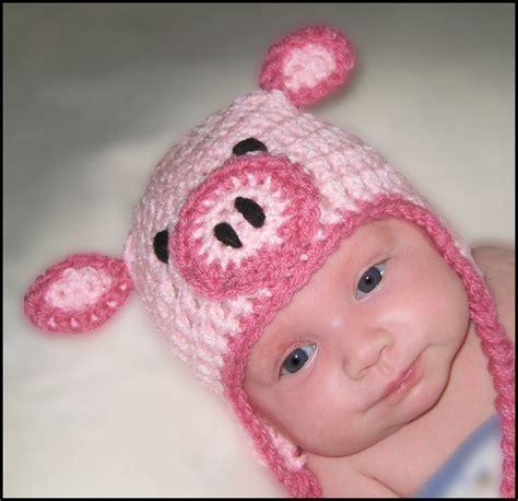 pattern for little library little piglet hat crochet pattern pattern by saol boutique