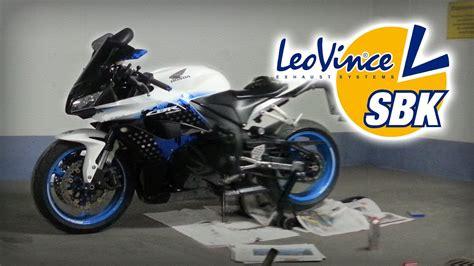 honda cbr 600 rr special edition honda cbr 600 rr 09 limited edition leovince sbk evo
