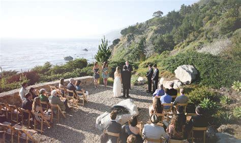 Wedding Venues Big Sur by An Intimate Big Sur Wedding Jen Green Wedding