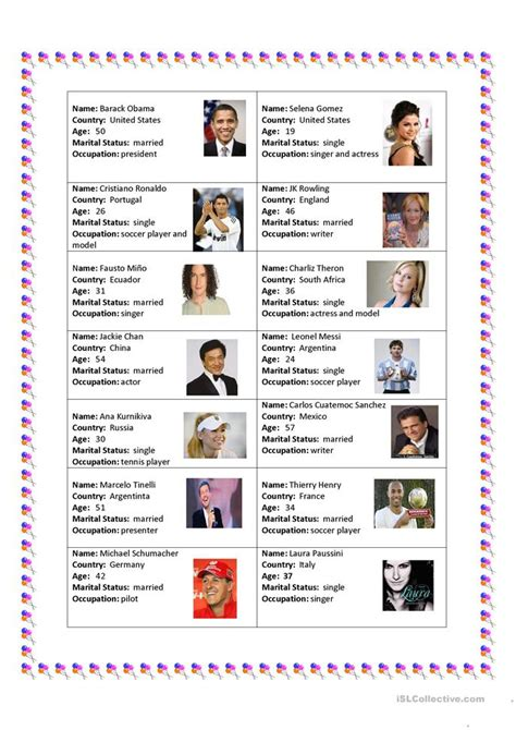 esl famous person biography famous people worksheet free esl printable worksheets
