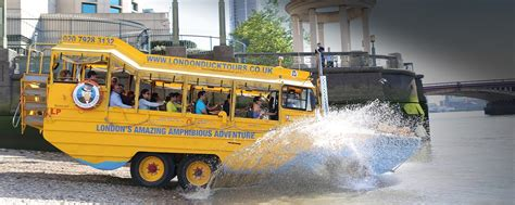 duck boat tour reviews london duck tours exciting hibious tours of london