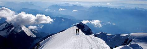 Mont Blanca mont blanc en 2 jours guides gervais mont blanc