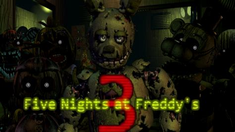 five nights at freddys 4 free download five night at freddys 3 wallpaper free download by