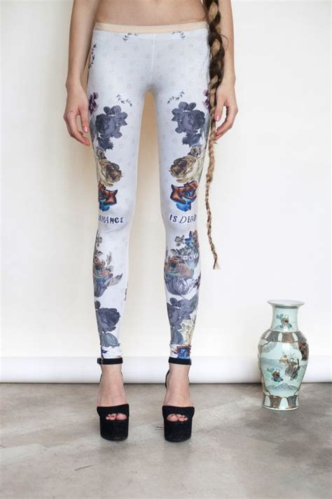 pattern leggings of woven death 22 best images about qooqoo leggings on pinterest green