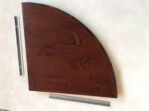 mensole angolari in legno mensole angolari arte povera in legno spessore 2 5 cm