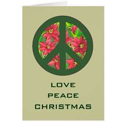 peace sign cards peace sign card templates postage invitations