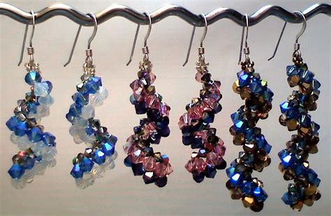 beaded earrings patterns vertigo earrings pattern available the beading butterfly