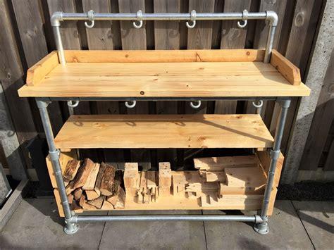tuin kast hout steigerbuis kast voor tuin en hout kasten steigerbuis