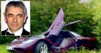 rowan atkinson new car comedian rowan atkinson lucky to be alive after car