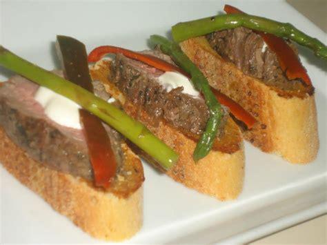 beef canapes recipes beef canape recipes