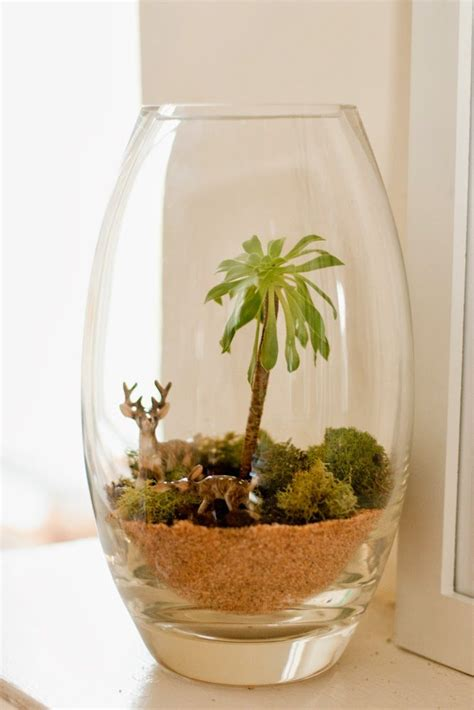 diy terrarium a sweet plant s little story flax twine