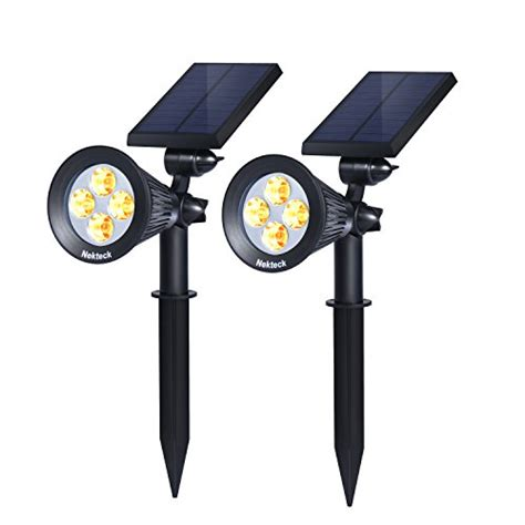 Best Outdoor Solar Lights Reviews Best Outdoor Solar Powered Spot Lights 2017 Top