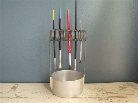 pattern for paint brush holder clever paint brush holder cleaner well aluminum artist