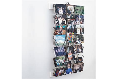 Postcard Display Rack by Organizing Advice From A Manhattan Designer