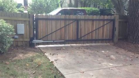 how to make a swinging gate privacy gate with steel frame swing gate operated or