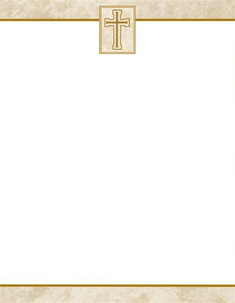 Christian Letterhead Best Template Design Images Church Stationery Templates