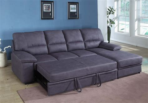 Awesome Small Sectional Sleeper Sofa Chaise 91 About Sectional Sofa With Sleeper And Chaise