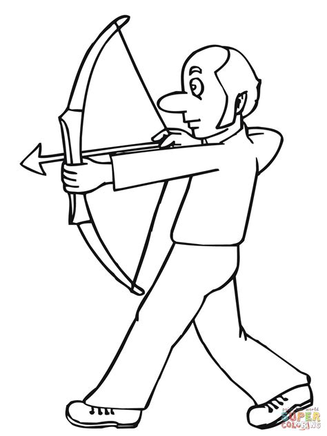 crossbow coloring page bow and arrows coloring page free printable coloring pages