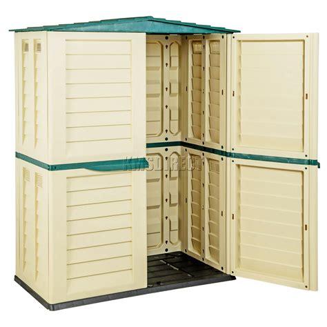 Shed Storage Units Starplast Outdoor Plastic Garden Shed Box Storage