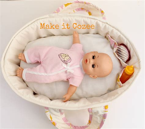 Beds For Baby Dolls by Make It Cozee Baby Doll Bed
