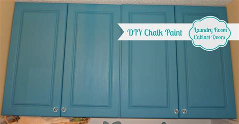 How To Repaint Cabinet Doors Diy Chalk Painted Doors The Affair Continues The Happy Housie