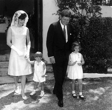 john f kennedy jr children jfk and jackie family after mass jackie pinterest