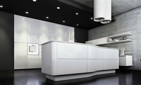 cuisine blanche sol noir la cuisine laqu 233 e une survivance ou un hit moderne