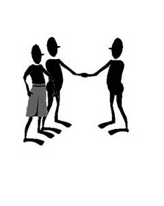 When meeting someone formally for the first time we shake their hand