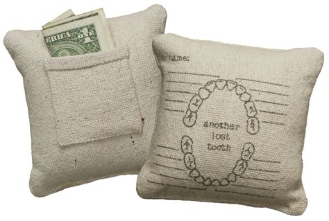 Lost Tooth Pillow by Another Lost Tooth Pillow Primitives By Kathy