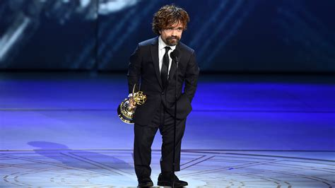 peter dinklage emmy 2018 game of thrones peter dinklage wins emmy for supporting