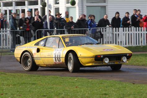 rally ferrari race retro 2011