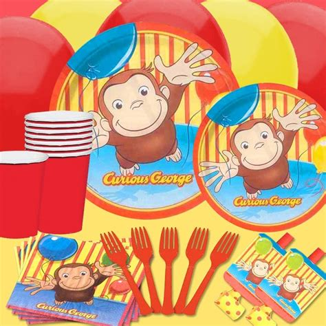 curious george decorations curious george custom birthday kit camden is