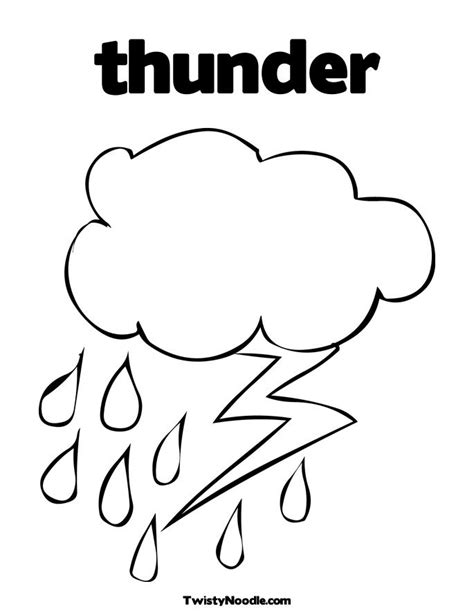 thunder and lightning coloring pages coloring pages