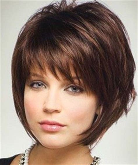 salon haircuts for round faces with fine hair and easy to fix excellent haircuts for thin hair and round face in