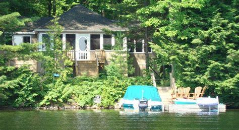 cottage rental on bala park island