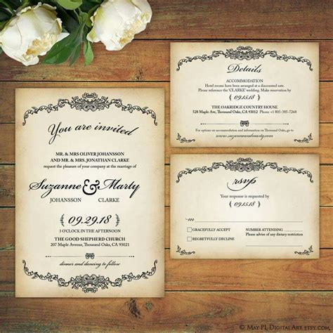 Wedding Invitation High Resolution