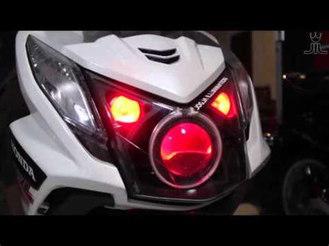 Lu Projie Honda Beat kesalahan fatal memasang proji hid 250 fi doovi
