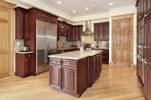Kitchens With Cherry Cabinets And Wood Floors 43 Quot New And Spacious Quot Darker Wood Kitchen Designs Layouts