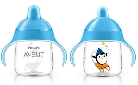 Philips Avent Spout Toddler Cup Trainer 260ml Sip Sippy 12m 63 avent my penguin sippy cup premium spout cup 12m 260ml 9oz