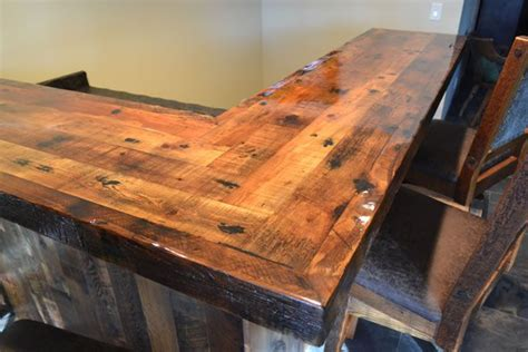 wood bar top 25 best ideas about custom wood furniture on pinterest