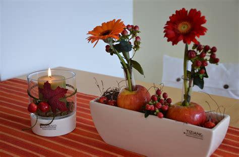 Tischdeko Mit by Herbstliche Tischdeko Mit 196 Pfeln Tiziano