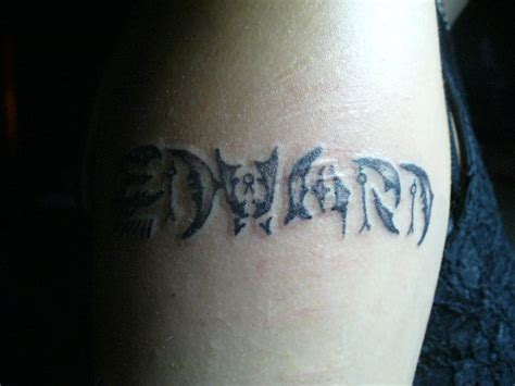 tattoo name edward edward tattoo by ravercandy on deviantart