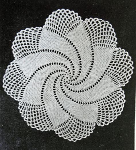 crochet doily patterns robin harley blog spiral doily 1949 vintage crochet