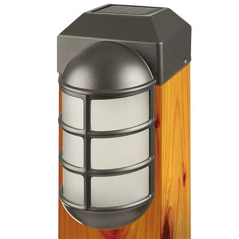 solar led post cap lights amazon com paradise gl23877bk solar cast led post cap